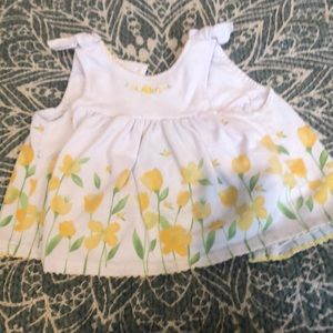 💋Little me sleeveless tulip dress